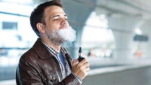 E-Sigara masum değil