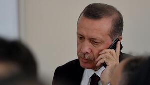 Cumhurbaşkanı Erdoğan'a Katar ve Filistin'den taziye telefonları