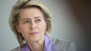 Alman bakan mahsur kaldı