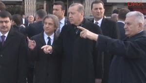 Cumhurbaşkanı Erdoğandan Taksim Meydanında inceleme