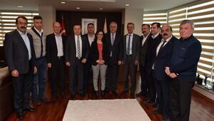 Çanakkale Belediye Başkanı Gökhan'a destek ziyareti