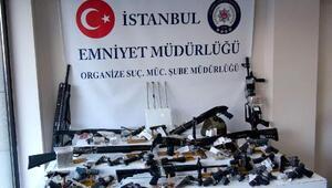İstanbulda organize suç örgütlerine operasyon