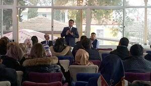 İslahiye'de, aday öğretmenlerden ziyaret