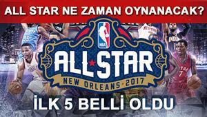 NBA All Star 2017 ne zaman İlk 5ler belli oldu