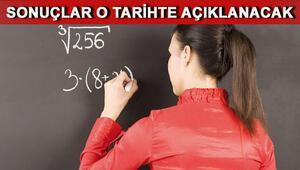 Aday öğretmen sınav sonuçları açıklandı - MEB aday öğretmen sınav sonucu sorgulama sayfası