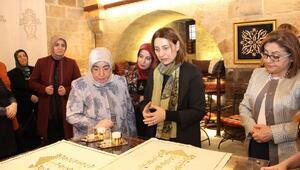 Semiha Yıldırım, Antep Sepeti ürünlerine hayran kaldı