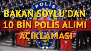 10 bin polis alımı başvurusu için süreç tamamlanıyor Bakandan Başvuru yetersiz açıklaması