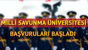 Milli Savunma Üniversitesi başvurusu nasıl yapılır MSÜ başvuru şartları neler
