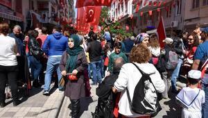 Marmariste 23 Nisan kutlamaları 105 sokağa taştı