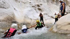Adrenalin tutkunlarının gözdesi kanyonlar