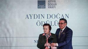 21. Aydın Doğan Ödülü Neş'e Erdok'a verildi