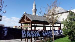 Erzurumda İbrahim Erkal için giyabı cenaze namazı