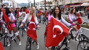 Marmariste kutlama ve bisiklet yolu açılışı