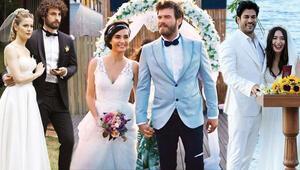 4 düğün, 7 gelinlik, 6 damatlık