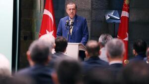 Erdoğan: Adalet yollarda değil, adliye binalarında aranır (Geniş haber)