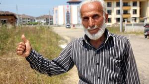 Gübre dökeni tepki gösteren Emiral: Düzceye yakışmadı