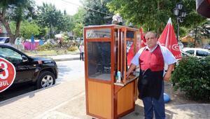 Köfteci Hasan Usta ekmek teknesine kavuştu
