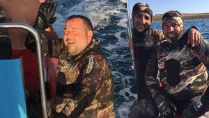 Ata Demirer'i zıpkınla balık avı merakı sardı