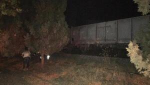 Manisada tren yayaya çarptı: 1 ölü