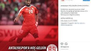 Antalyaspor, Djourou ile anlaştı