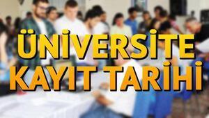 Üniversite kayıtları ne zaman yapılacak İşte üniversite kayıtları için gerekli belgeler