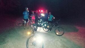 Kaybolan bisikletçileri AFAD buldu