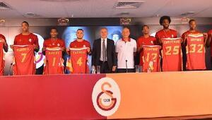Galatasaray Odeabank takım lansmanı yapıldı