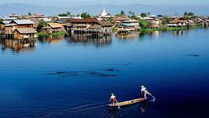 Sessiz sakin bir deneyim için: Inle Lake ( Myanmar)
