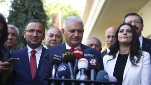 Başbakan Yıldırım: Barzani bu sevdadan vazgeçmeli