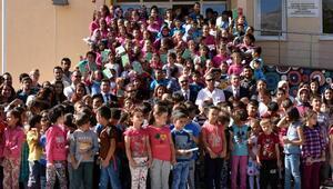 Köy okulunda İlköğretim Haftası
