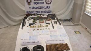 Eskişehirde çete operasyonu: 13 gözaltı