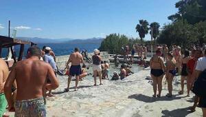 Sultaniye Kaplıcalarına turist yağdı