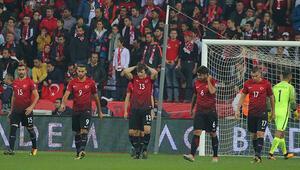Milli Takım Eskişehirde dağıldı Dünya Kupası hayali sona erdi