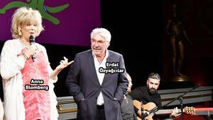 İsveçli komedyenden usta oyuncuya sürpriz