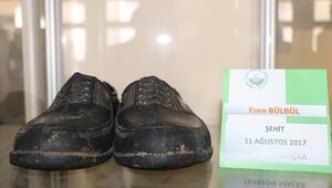 Eren Bülbülün kara lastikleri müzede sergileniyor