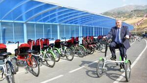 Kahramanmaraşta kesintisiz 18 kilometre bisiklet yolu