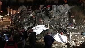 Tanker dehşet saçtı: Ölüler ve yaralılar var
