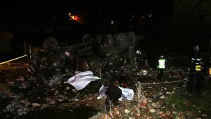 Düzcede freni boşalan tanker, 6 araca çarpıp kahvehaneye girdi: 2 ölü 4 yaralı