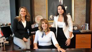 Antalyanın kadın oda başkanları