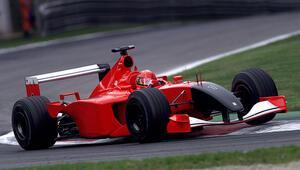 Michael Schumacherin aracı rekor fiyata satıldı 29 milyon...