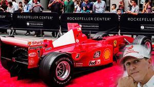 Schumacher'in aracı rekor fiyata satıldı