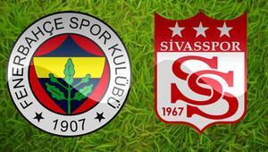Fenerbahçenin konuğu Sivasspor Pazar günü Kadıköyde...