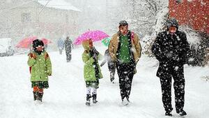 Yılın ilk kar tatili haberi Niğdeden...