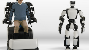 Toyota'dan VR ile kontrol edilebilen robot