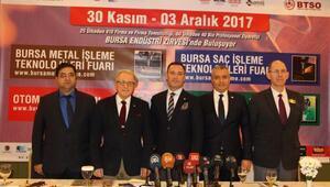 4 önemli fuarı aynı çatı altında buluşturan 2017 Bursa Endüstri Zirvesi başlıyor