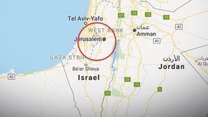 Google, Kudüsü İsrailin başkenti yaptı