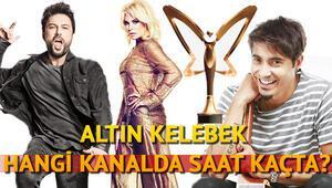 Pantene Altın Kelebek ödül töreni hangi kanalda saat kaçta yayınlanacak