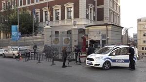 Almanya Başkonsolosluğuna gelen paket polisi alarma geçirdi (1)