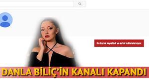 Danla Bilicin Youtube hesabı kapatıldı