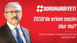 #SoruHürriyeti - 2018de erken seçim olur mu